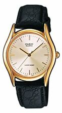 Casio Men's Analogue Quartz Watch with Leather Strap MTP1154PQ-7AEF