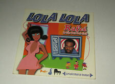 Rafee & the oui oui club - Lola lola - cd single 3 titres 1997