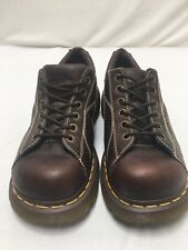 Dr Martens 12283 Brown Leather Oxford Lace Up Shoes Women's Size 8