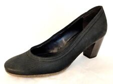 JENNY by ara Women's Black Leather Pumps - Size US 6.5 / UK 4 / EUR 37