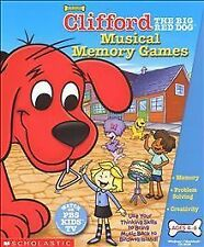 Clifford: The Big Red Dog -- Musical Memory Games (Windows/Mac, 2002)