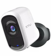 Outdoor Camera Wireless, XTU 1080P Rechargeable Battery Security Camera with 2