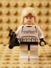 Lego Star Wars sw204 Luke Skywalker (Stormtrooper Outfit) minifig FREE SHIPPING