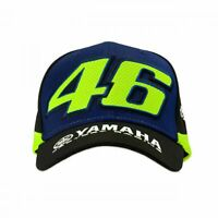 VR46 Valentino Rossi Official Yamaha M1 Racing MotoGP Hat Cap (YDMCA361709)