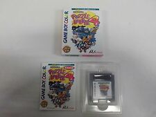 GB -- Puzzle Bobble 4 -- Box. Game Boy, JAPAN Nintendo. Clean & Work fully!!