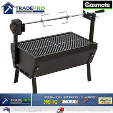 Spit Roaster Rotisserie BBQ Full Size Charcoal Grill Quality Heavy Duty 650mm