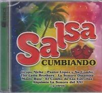NEW - Salsa Cumbiando 2 CD's Maelo Ruiz Grupo Gale Y Mas SHIPS NOW !