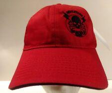 Boulevard Graphix Red skull and crossbones Hat/Cap Adjustable