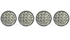 """5-3/4"""" LED HID Cree Light Bulbs Crystal Clear Sealed Beam Headlamp Headlight Set"""