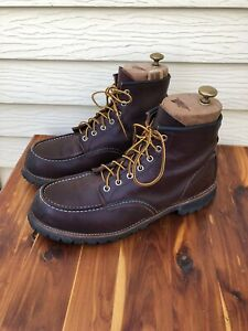 Red Wing Heritage Roughneck #8146 Boots Size 11.5D USA Made