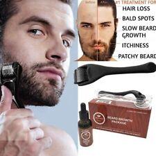 Beard Growth Kit Set Beard Styling Beard Oil And Balm With Shaper Roller Comb
