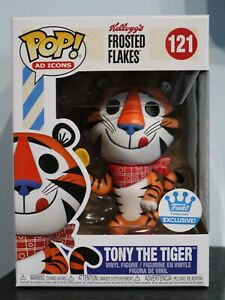 Funko Pop! - Tony The Tiger (Classic) 121 Kellogg's Frosted Flakes AD ICONS [1]