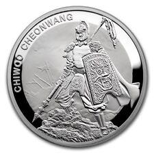 1 Clay Chiwoo Cheonwang Proof South Korea Südkorea 1 oz Silber PP 2016