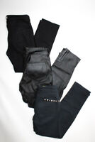 BLANKNYC Womens Mid Rise Skinny Distressed Skinny Jeans Black Size 26 27 Lot 3