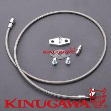 Kinugawa Turbo Oil Feed Line Kit Nissan Safari Patrol 4.2L TD42 Stock HT18 Turbo