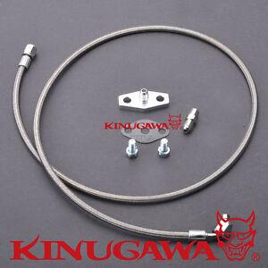 Kinugawa Turbo Oil Feed Line Kit For Nissan Safari Patrol 4.2L TD42 Factory HT18