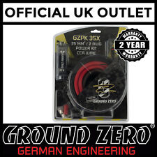 Ground Zero GZPK35X 2800 Watts 2 AWG Gauge Car Amplifier Amp Sub Full Wiring Kit