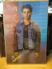 Vintage 21 Jump Street 1987 Johnny Depp poster  10680