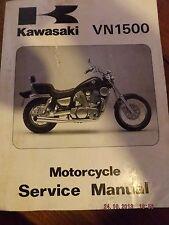 english textbook KAWASAKI 87-96 VN1500 MOTORCYCLE PAPERBACK SERVICE MANUAL