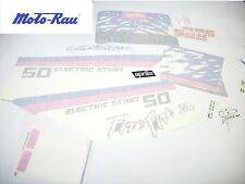 Aprilia ET 50 Aufklebersatz Sticker Dekorsatz schwarz Aufkleber