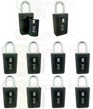 10 lockboxes realtor key storage lock box real estate 4 digit lockbox