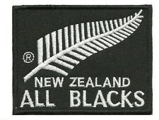 New Zealand All Blacks HAKA Embroided Iron on Patches