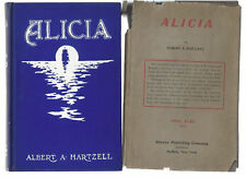 Alicia 1904 Albert Hartzell / Rare Buffalo NY Mystery / Burdick Murder of 1903