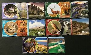 Portugal 2021 - Protected Areas, Nature Parks set MNH
