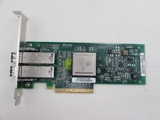IBM 42D0516 Qlogic QLE2562 8Gb FC Dual Port HBA Host Bus Adapter + GBICs