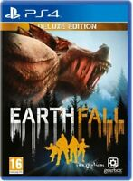 Earthfall Deluxe Edition PlayStation 4 PS4 Mint Same Day Dispatch 1st Class Del*