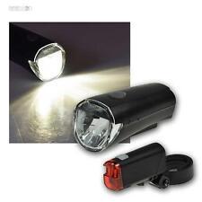 LED Fahrradlicht, Fahrrad Beleuchtung Set, Scheinwerfer Rücklicht Batterie StVZO