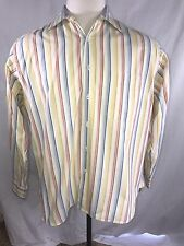 CHRISTIAN DIOR  Mens Casual Shirt Buttons Down Size Large 16 1/2