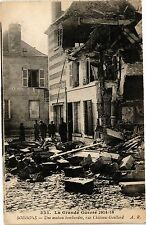 CPA Soissons.- Une maison bombardee  (191342)