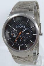 Skagen Herren Uhr Armbanduhr Titan Edelstahl 809XLTTM, neuwertig