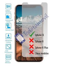Protector de Pantalla Cristal Templado Vidrio 9H para Apple Iphone X 10 4G 5.8