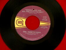 TEMPTATIONS~GONNA GIVE HER ALL THE LOVE I'VE GOT~ I COULD NEVER LOVE ~ SOUL 45