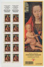 Timbres avec 2 timbres sur croix-rouge