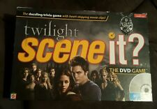 2009 Twilight Scene It? The DVD Movie Trivia Board Games - Mattel - free shippin