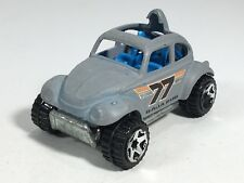 Hot Wheels 2005 Baja Bug Volkswagen Beatle Flat Gray #77 HW Mainline Malaysia
