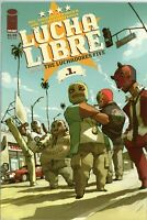 LUCHA LIBRE #1 Introducing The Luchadores Five IMAGE COMICS 2007 Trade Paperback