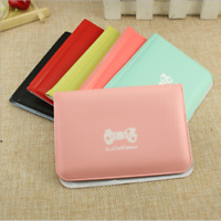 12 Slots Women Ladies Bow Ticket Receipt Wallet Card Holder Coin Small Bag