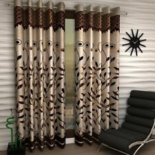 Polyester Eyelet Door Window Curtain Home Decorative Wall Hanging Curtain Set