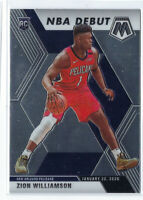ZION WILLIAMSON 2019-20 PANINI MOSAIC NBA DEBUT ROOKIE RC #269 PELICANS