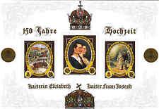 Sisi / Kaiserin Elisabeth - Großer Sonderbriefmarken Block