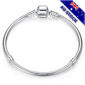 Genuine Gold/Silver Plated Cable Twisted Solid Bracelet With PDR Style Clasp