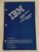1990 IBM Personal System / 2 MODEL 80 HARDWARE MAINTENANCE REFERENCE Manual book