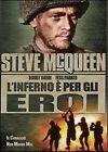 L' inferno è per gli eroi (1962) DVD Nuovo Sigillato Steve McQueen Pirosh