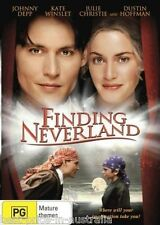 Finding Neverland DVD TOP 500 MOVIE JOHNNY DEPP Kate Winslet BRAND NEW SEALED R4