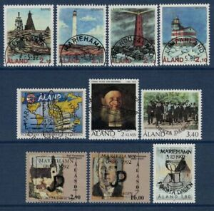 1992 Aland Islands complete year set fine used.