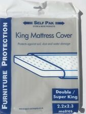 MATTRESS COVER Bag Double Kingsize and SuperKing for Removal Moving and Storage